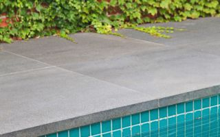Maintaining the natural stone around your swimming pool